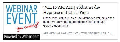 Webinar Selbst ist die Hypnose