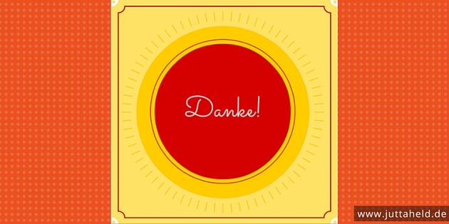 Danke - Blogparade