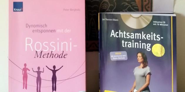 Zwei Buch-/und CD-Tipps zum aktiv Entspannen