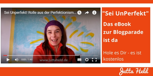 Sei UnPerfekt - eBook zur Blogparade
